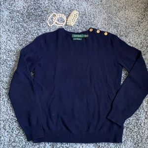 Cashmere RL Classic sweater